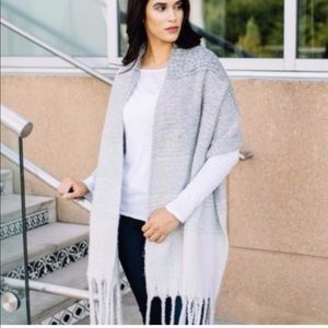 Met Sea cozy wrap